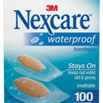Pack of 100 Nexcare Assorted Waterproof Bandages For $4.96 – $5.85 + Free Shipping