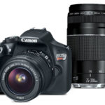 Canon EOS Rebel T6 EF-S 18-55 with EF 75-300mm f/4-5.6 III Refurbished Camera Only $269.99 Shipped!