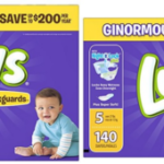 Get A Ginormous Case of Luvs Ultra Leakguards Diapers For As Low As $13.98 + Free Shipping!