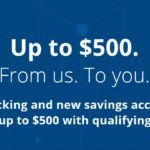 Earn Up To A $500 Bonus When You Open A New Chase Checking and/or Savings Account