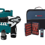 Makita 12V Cordless 3/8″ Driver-Drill Kit Only $68! Bosch 18-Volt Tough Drill/Driver Kit Bundle Only $95!