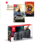 Nintendo Switch with Neon Joy-Con and Games Bundles For Only $399 + Free Shipping!