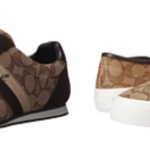 Coach Women's Sneakers For Only $34.99 w/ Free Shipping!