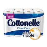 Get 108 Family Rolls (258 Regular Rolls) of Cottonelle CleanCare Toilet Paper For Just $33.05-$39.53
