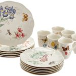 Lenox Butterfly Meadow 18-Piece Dinnerware Set, Service for 6 Only $94.39!