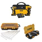 DEWALT 20v Lithium Drill Driver/Impact Combo Kit with SAE and Metric Wrench Sets Just $141.99 Shipped!