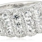 Sterling Silver Lab Created White Sapphire Ring Only $22.14!
