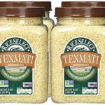 Pack of 4 RiceSelect Texmati Long Grain American Basmati Light Brown Rice 32 Ounce Jars Only $8.17!