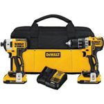 DEWALT 20V MAX XR Lithium Ion Brushless Compact Drill/Driver & Impact Driver Combo Kit Only $186 Shipped!