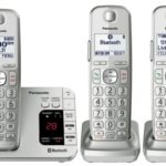 Panasonic Link2Cell Bluetooth Cordless Phone with Answering Machine- 3 Handsets Only $59.95 Shipped!