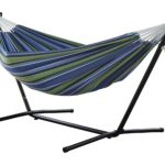 Vivere Double Hammock with Space Saving Steel Stand Only $56 Shipped!