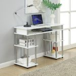 Convenience Concepts Modern No Tools Student Desk Only $40 Shipped!