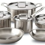 Highly Rated All-Clad Brushed 18/10 Stainless Steel 5-Ply Bonded 10-Piece Cookware Set Only $485 Shipped After $315 Price Drop!
