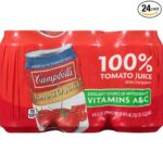 Pack of 24 Cans Of Campbell's Tomato Juice Just $2.53-2.83 + Free Shipping!