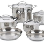 Cuisinart Chef's Classic Stainless 10-Piece Cookware Set Only $79 Shipped!