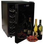 Koolatron WC20 Mirrored Glass Door 20 Bottle Wine Cellar Only $129 Shipped