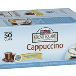 Grove Square Cappuccino, French Vanilla, 50 Single Serve Cups Just $4.73-$5.28 + Free Shipping!