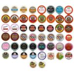 50-Pack of Coffee, Tea, Cider, Cappuccino and Hot Chocolate Single Serve K-Cups Variety Pack Only $15.45!
