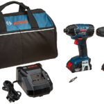 Bosch 18V 2-Tool Combo Kit (Drill/Driver & Impact Driver) with (2) 2.0 Ah Batteries Only $129 Shipped!