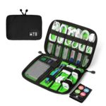 BAGSMART Travel Cable Organizer Portable Electronics Accessories Case for Hard Drives, Charging Cords, USB Charger Just $9.09