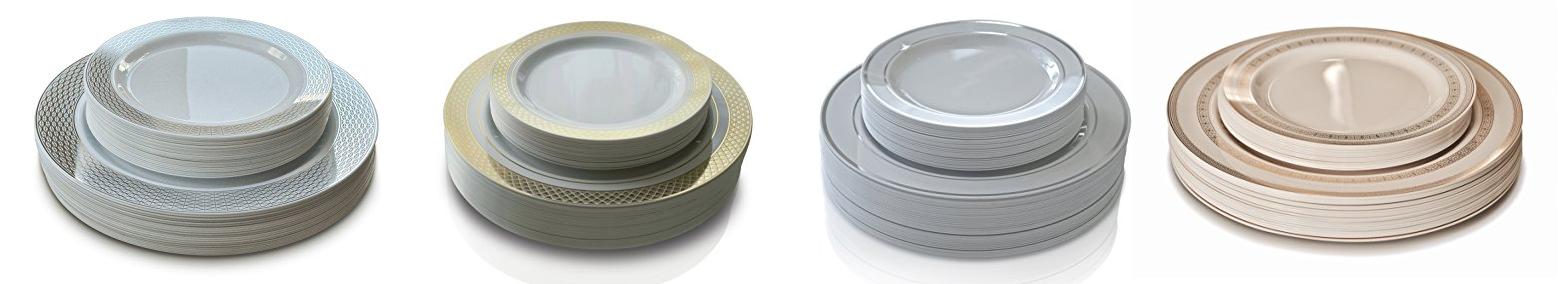 u201cOCCASIONSu201d 50 Pack Premium Disposable Plastic Plates u2013 Link  sc 1 st  DealsMaven.com & OCCASIONS