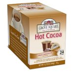 Grove Square Hot Cocoa, Milk Chocolate, 24 Single Serve Cups Only $2.55-$2.85 + Free Shipping!