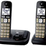 Panasonic Cordless Phone with Answering Machine w/ 2 Handsets Just $35.94 Shipped!