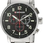 Wenger Men's 'Attitude Chrono' Swiss Quartz Stainless Steel Watch For Only $89.99 w/ Free Shipping!