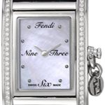 Fendi Women's 'ID' Swiss Quartz Stainless Steel and Leather Dress Watch Only $338.12 w/ Free Shipping! (Reg. $1,300!)