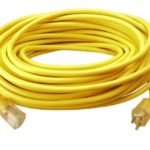 Coleman Cable 50-Foot 12/3 Vinyl Outdoor Extension Cord with Lighted End For Just $26.48