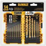 DEWALT 14-Piece Titanium Drill Bit Set For Just $12.99!