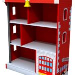 Kidkraft Firehouse Bookcase Just $58.99 w/ Free Shipping