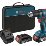 Bosch 18-Volt 1/2-Inch Compact Tough Drill/Driver Kit with 2 Batteries, Charger and Contractor Bag Just $79!