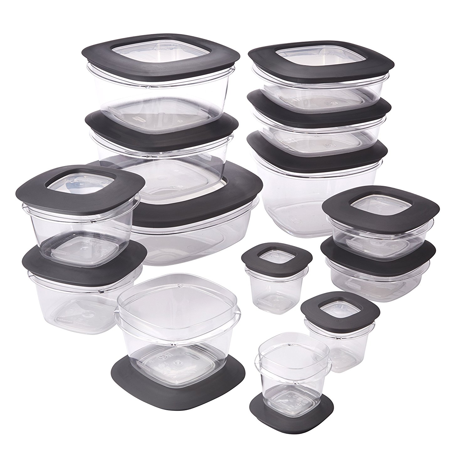 today only rubbermaid premier food storage containers 28piece set for
