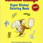 Curious George Super Sticker Coloring Book For Just $4.64