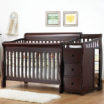 Sorelle Tuscany 4-in-1 Convertible Crib and Changer For $399.99 w/ Free Shipping