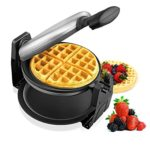 Aicok Stainless Steel 180 Degree Fast & Easy Flipping Waffle Maker For $21.35