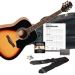 Silvertone SD3000PAK VS Acoustic Guitar Pack For Just $89.95 w/ Free Shipping