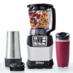 Nutri Ninja Auto-iQ Compact Blender System with Nutri Ninja Cups Only $45.38 + Free Shipping!