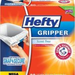 Pack of 80 Hefty Gripper Tall Kitchen Drawstring Trash Bags Just $7.64-$8.54 + Free Shipping
