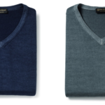 Allen Edmonds 100% Wool Acid Wash V-Neck Sweater (Made in Italy) For Only $19.99 w/ Free Shipping!