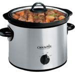 Crock-Pot Stainless Steel 3-Quart Round Manual Slow Cooker For Just $11.99!