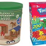 One Day Only – Save Up To 40% On K'nex and Lincoln Logs Toys!