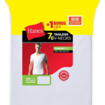 7-Pack Hanes Men's Undershirts (V-Neck, Crewneck, or Tank) For Only $10.50 + Free Shipping!