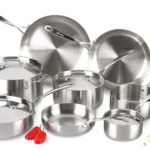 Lagostina 13-Piece Axia Tri-Ply Stainless Steel Dishwasher Safe Oven Safe Cookware Set Only $125 Shipped! (Was $399.99!)