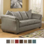 Signature Design by Ashley Madeline Fabric Pad-Arm Sofas Only $224.25 w/ Free Delivery!