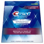 Crest 3D White Glamorous White Whitestrips Dental Teeth Whitening Strips Kit, 14 Treatments Just $14.99!