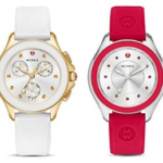 MICHELE Cape Silicone Strap Watches On Sale For  Only $148.23 – $267 w/ Free Shipping!