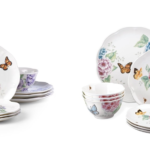 Today Only: Butterfly Meadow 12-pc Dinnerware Sets For Only $99.99 Shipped!