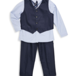 Andrew Fezza Little Boy's Vest Suit Sets For Only $16.99-$18.99!